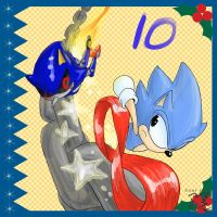 Sonic Advent Calendar: 10th by Feniiku