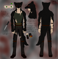 SVOC REF - Black Wolf by UnluckyArachnoFreak