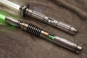 Custom Lightsabers by ammnra