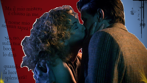 Doctor Who: My kiss will dissolve the silence by BasiliskRules
