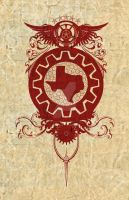 Redback Texas Shield by turnerstokens