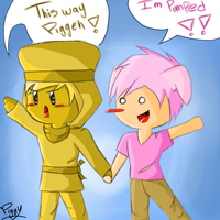 Join.Me Sketch: Stephano and Piggy by Piggy-The-PumpedPig