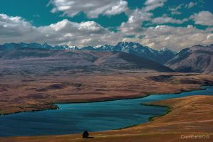 New Zealand - Lake Tekapo by olideb08