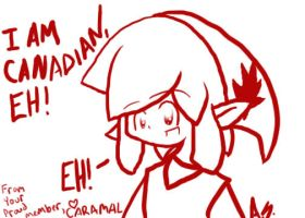 I AM CANADIAN EH by Caramal by I-Am-Canadian-Eh