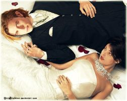 Alice and Jasper Wedding Pose by DirtySituation