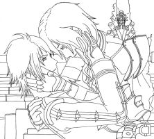 Lightning and Hope: Don't leave me Outlines by xHeeendlx