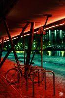 Bicycle in colors by sylvaincollet