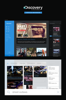 Discovery.com unofficial redesign by PiP3R-CZ