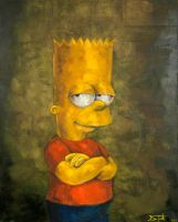 Bart Simpson by Fruksion
