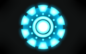 Arc Reactor [Iron Man] Wallpaper by little-space-ace