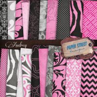 audrey-paper street designs by paperstreetdesigns