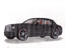 2009 Rolls Royce Phantom by Mister-Lou