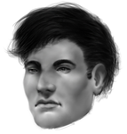 Male Face Sketch [Reupload] by Dex91