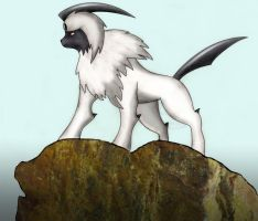 Zarku the Absol by chammy3760