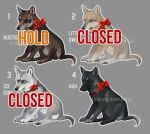 Puppy presents: Type 1 designs CLOSED YAY by KFCemployee