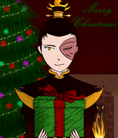 Zuko Christmas by Separate-The-Earth