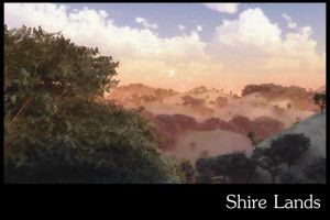 Shire Lands Print by dmaland