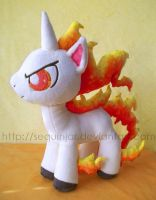 My Little Rapidash by sequinjar