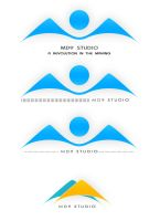 MD9 Studio Logo Concepts by mossawi