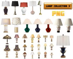 Lamp Collection 3 PNG by amir2012