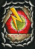 ACEO Cards 2of6 by SludgeBrain