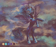 Nightmare Moon by son-trava