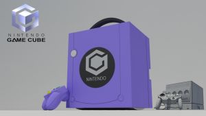 GameCube by Mo3D