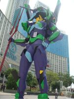 EVA-01 at Central Park Mall 2 by V-male