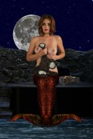 Mermaid Lidia ~ the farewell by sirenabonita