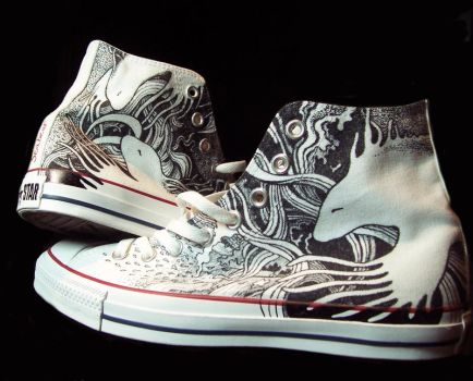 Alan's Shoes by mooray