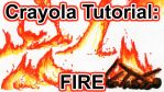 Tutorial: How to Draw Fire w Crayola Markers [VID] by wondering-souls