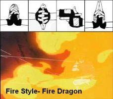 Fire Dragon- Hand Signs by Bogardeth