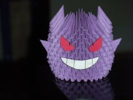 Origami Gengar by paporigami