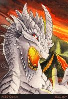 ACEO Galahad by theOlven