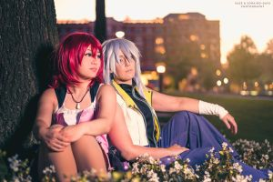 Kingdom Hearts: Thinking Of You, Wherever You Are by cafe-lalonde