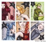 Death Busters (ACEO set) by Seeraholic