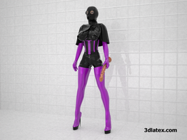 rubber mistress 2 by 3dlatex