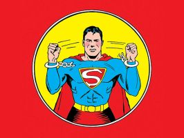 Superman in the 40's by Superman8193