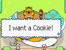 Bowser wants a Cookie by MultiShadowYoshi