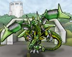 Mecha Dragon - Color by LancerAdvanced