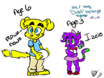 Animalmania New Gen: Meowz and Powz-Bowz Kids by BebeMonkey