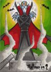 Hallowe'en 2 Sketch Card - Mike Hartigan 3 by Pernastudios