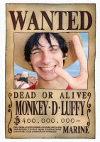 Real Rufy Wanted by Boulayo
