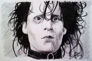 Edward Scissorhands by phantomphreaq