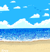 Ocean for Draw Something by zachjacobs
