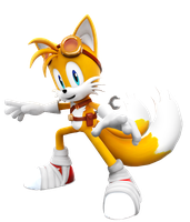 Tails boom New Render by Nibroc-Rock