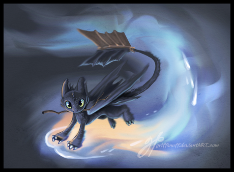 Toothless by griffsnuff
