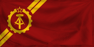 Flag for the Social Republic of Vulkland by AlienatedHumour