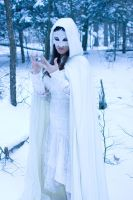 lace, snow weird hands by eyefeather-stock