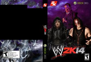The Family of Destruction WWE 2k14 Cover by Galixa